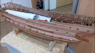видео Модель корабля La Couronne (Mantua) MA778 Mantua (Италия)