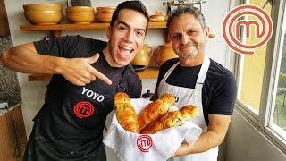 Cocinando GUAGUAS de PAN con el Yoyo | Ft. El YoYo