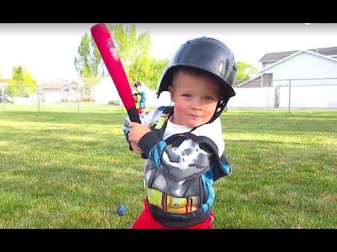 ⚾️HILARIOUS Little Kids Baseball!😂