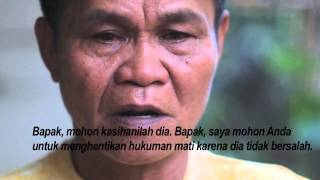 (8 April 2015) Father of death row prisoner Mary Jane Veloso appeals to Indonesian President Widodo