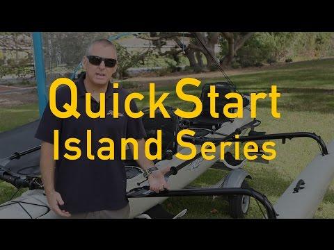 Hobie QuickStart for your Island series sailing kayak.