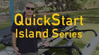 hobie quickstart for your island series sailing kayak