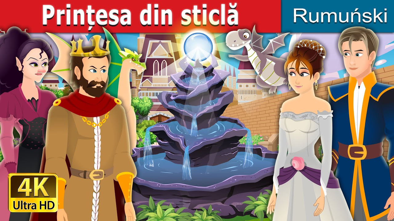 Prințesa din sticlă | Princess in a Bottle Story | Romanian Fairy Tales