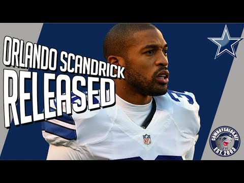 Dallas Cowboys Orlando Scandrick Released Post June 1 Designation