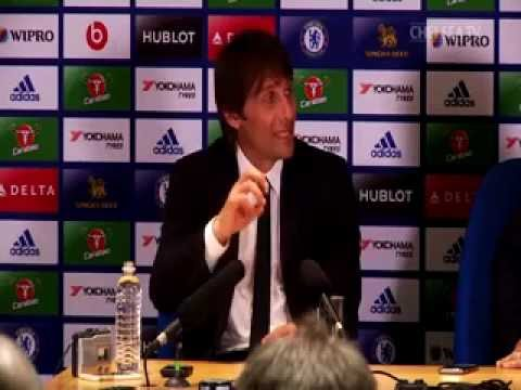 Our Press Conference With Conte After Chelsea win over Burnley