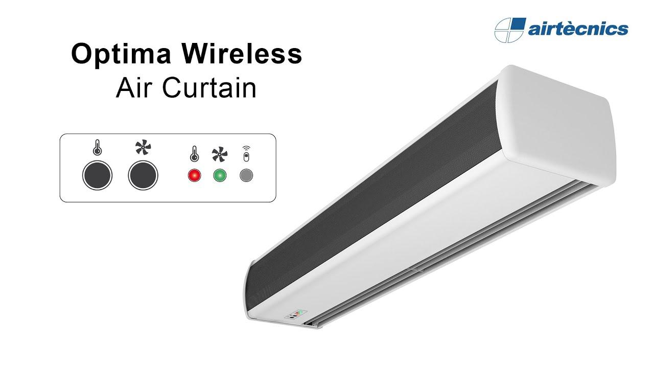 Air Curtain Optima Wireless Manual Regulation
