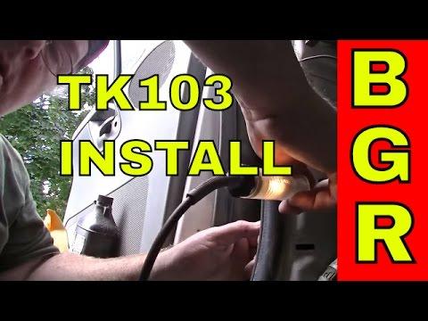 TK103 (B) GPS TRACKER Installation