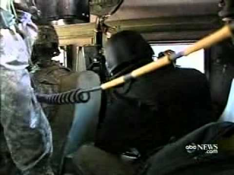 IED explosion from inside the Truck