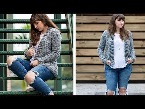 Crochet the Everyday Cardigan Sweater