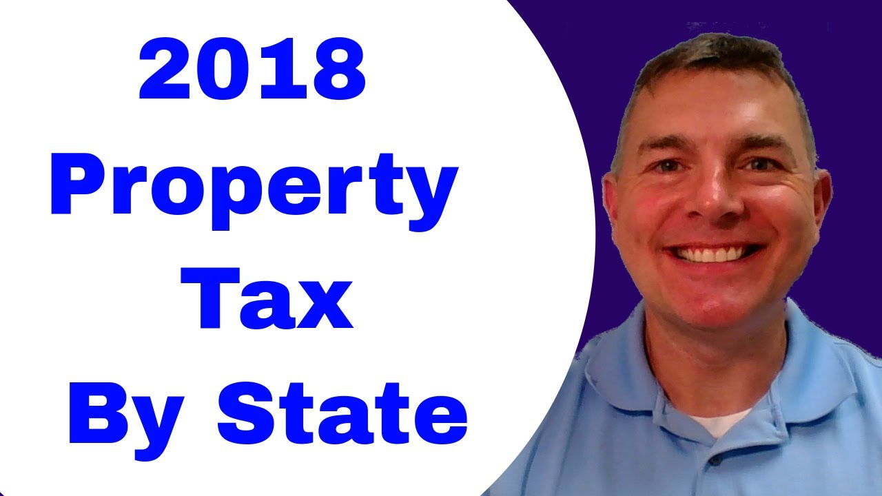 2018 Property Tax Rates By State