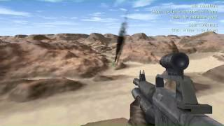 Delta Force 1 GamePlay - Chad - Mission 07 - Exodus