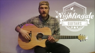 Nightingale Guitars Showcase: Douglas fir top 'Sweet Chestnut Woodland Guitar'