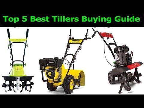 Top 5 Best Tillers In 2018|Which Is The Best Garden Tillers?Best Garden Tillers Reviews