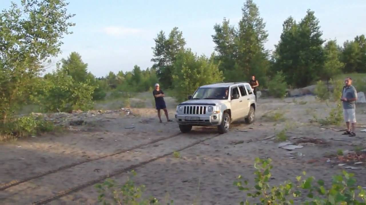 Lifted Jeep Patriot >> Jeep Patriot LiftKit+MudTires - YouTube