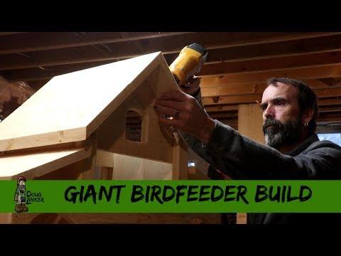Giant Birdfeeder Build