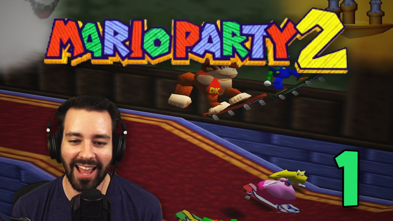 Dicks Out For DK! (Mario Party 2 Online #1)