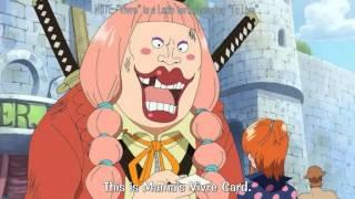 One Piece Lola Give Nami Big Mama Card
