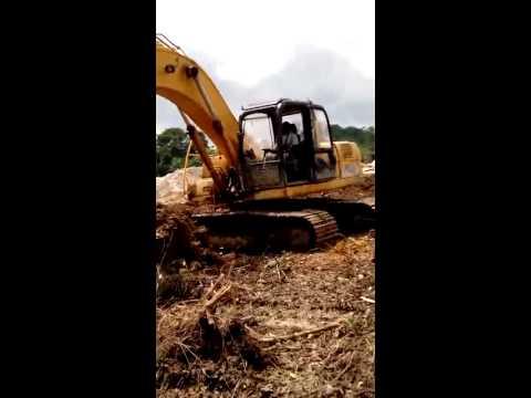 Alluvial mining in Ghana