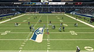 Madden 25 :: XBOX ONE Gameplay ::SIMULATION! - Seahawks Vs. Panthers - Online Gameplay XboxOne