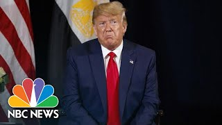 President Donald Trump On Cuomo: 'Rudy Giuliani Took Fredo To The Cleaners' | NBC News