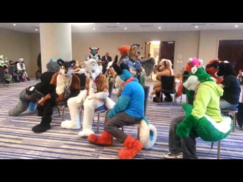 Califur X - Musical Chairs (Fursuit Games)