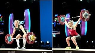 WOMEN 58kg B  SNATCH / 2017 WEIGHTLIFTING WORLD CHAMPIONSHIPS