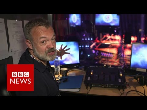 Eurovision 2016: Inside Graham Norton's BBC commentary booth - BBC News