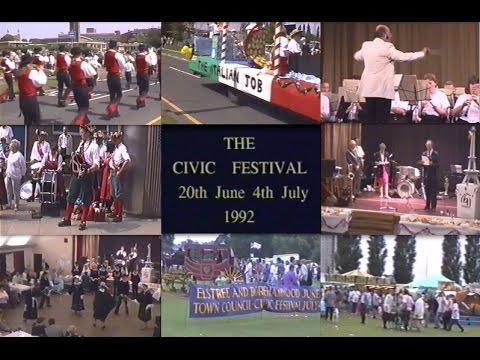 Elstree & Borehamwood Civic Festival 20th June - 4th July 1992