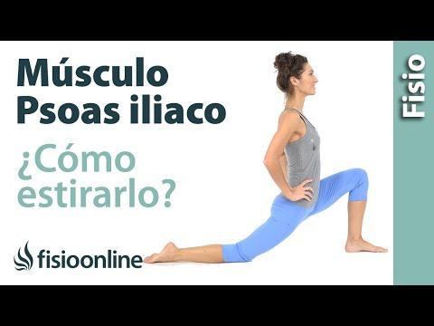 Cómo estirar correctamente el músculo psoas ilíaco
