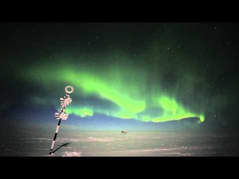 Aurora Australis from Halley Research Station, Antarctica [1080p]