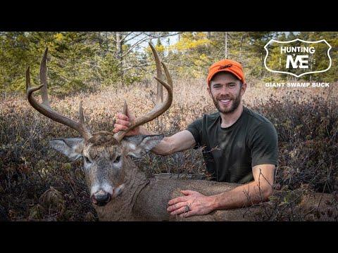 Josh's Biggest Buck Ever! | Maine Deer Hunting Camp