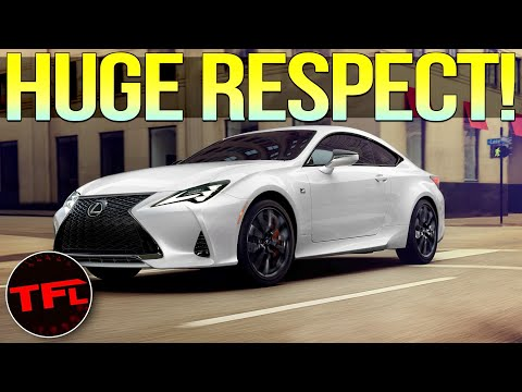 The 2021 Lexus RC 350 F Sport Black Line Is A Great GT Car That Deserves More Respect — Here's Why!