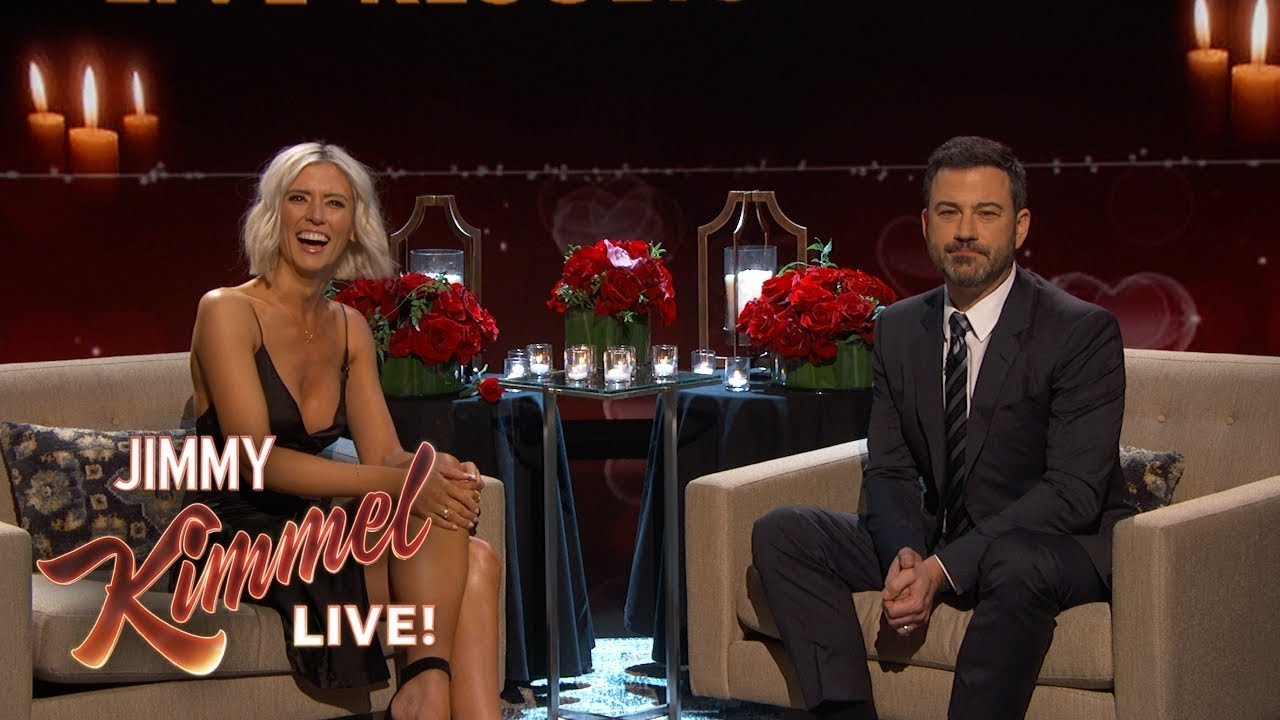Jimmy Kimmel Helps Former Bachelor Contestant Find Love - The Matchelor FINALE
