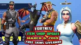 FORTNITE ITEM SHOP UPDATE WEDNESDAY, MARCH 6, 2019 ARK SKIN, MALCORE SKIN, INFILTRATOR, CABBIE SKIN