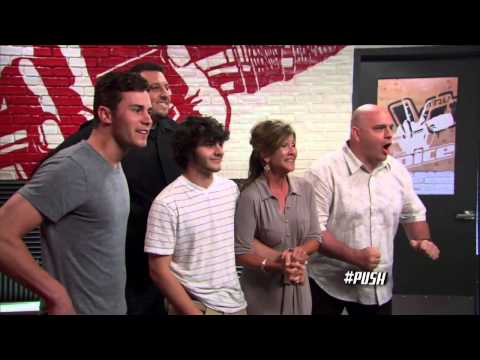 Mackenzie Bourg's Audition Pumped Up Kicks - The Voice