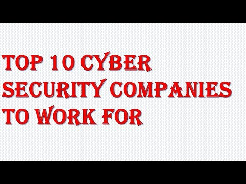 Best Cyber Security Company To Work For|| Cyber Security Company