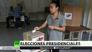 La jornada de elecciones presidenciales en Venezuela