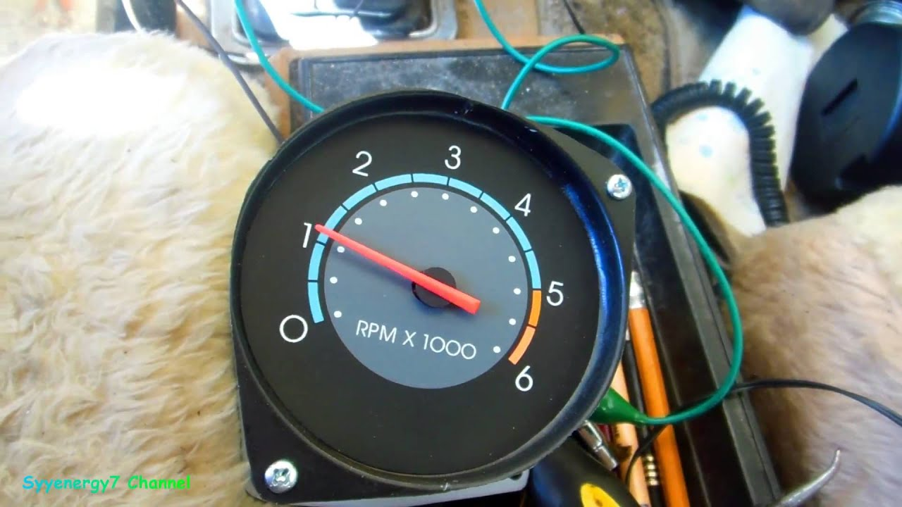 1978 El Camino, Install In dash Tachometer - YouTube