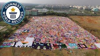 Largest Crochet Blanket - Guinness World Records