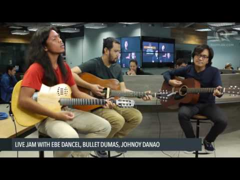 Ebe Dancel, Johnoy Danao, Bullet Dumas sing Sugarfree's 'Burnout'