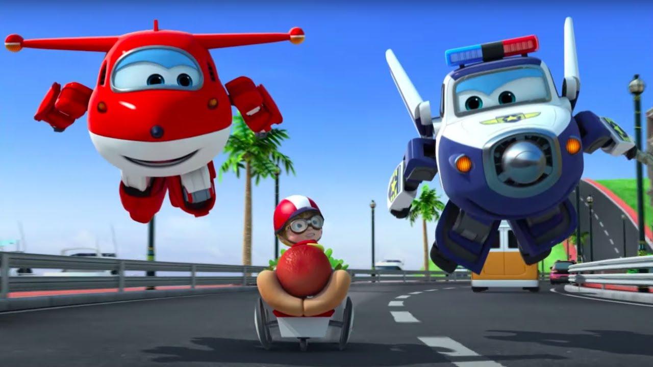 Мультик СУПЕР КРЫЛЬЯ Джетт и его друзья - Super Wings Маленькие Изобретатели