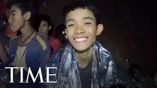 A Second Video From The Cave Shows Thai Navy Seal Treating Boys