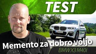 test 2018 BMW X3 M40i
