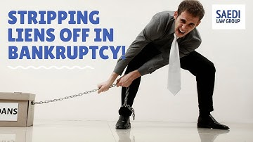 #Stripping Liens off in #Bankruptcy: What You Need to Know