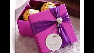 Origami Candy Box. Easy. Great Ideas For Gift Wrapping