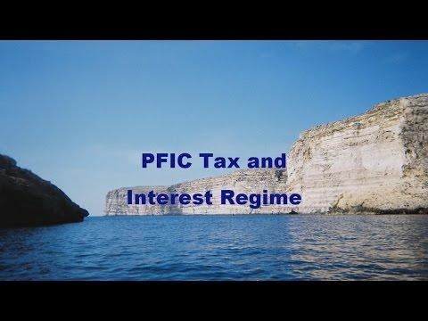 PFIC Tax and Interest