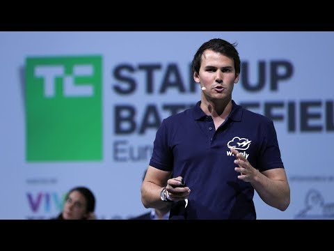 Wingly wins the grand prize at Startup Battlefield Europe Finals