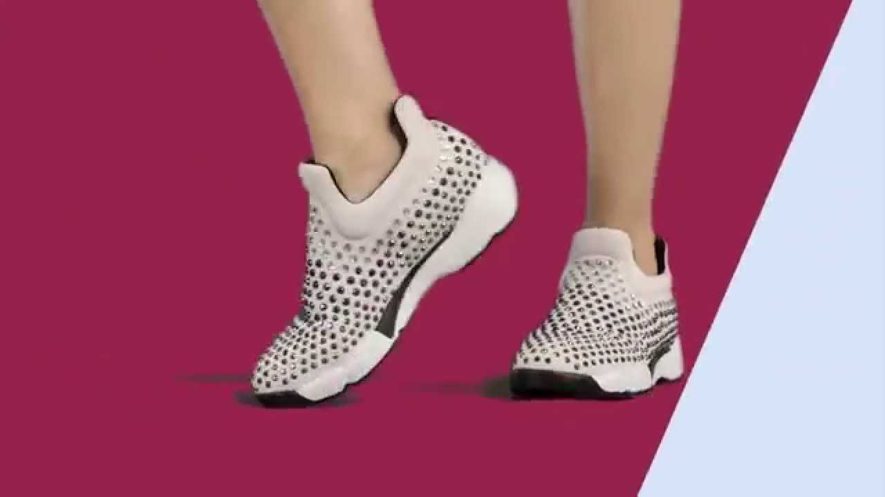 outlet store f2c7b ebdf5 PINKO SHINE BABY SHINE JEWELRY SNEAKER COLLECTION