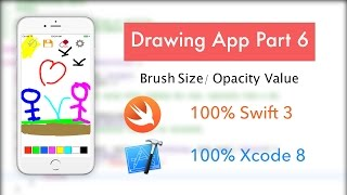 make a drawing app part 6 xcode 8 ios 10