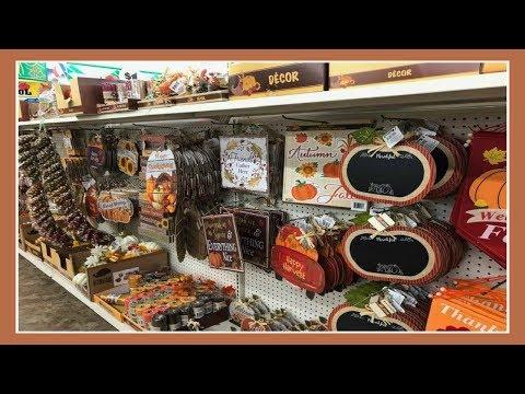 Fall/Autumn Decor Shopping At Dollar Tree